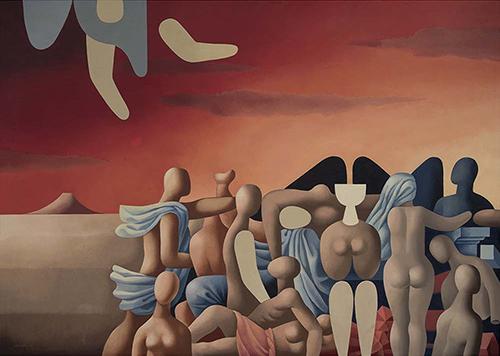 """""""Tierra de Volcanes"""" by Mario Carreño"""